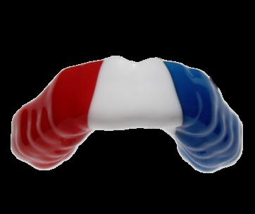 custom fit mouthguard flag